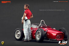 1/18 Wolfgang von Trips VERY RARE!!! figures for 1:18 Ferrari Autoart Exoto