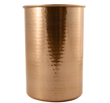 Copper Coated Kitchen Utensil Holder / 7-Inch Tool Caddy