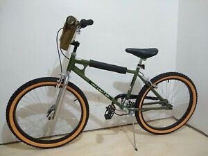 Schwinn Netflix Stranger Things Lucas BMX Bike 24-inch Wheels Single Speed Green