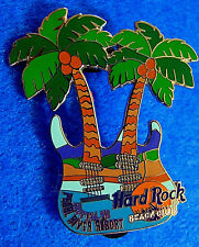 CHOCTAW PEARL RIVER RESORT BEACH CLUB COCONUT PALMS GUITAR Hard Rock Cafe PIN