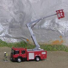 Spur N 1:160 Kleinserie Feuerwehr Scania Hubrettungsbühne Teleskopmast Skylift
