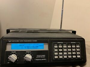 REALISTIC DIRECT ENTRY PROGRAMMABLE SCANNER 200 CHANNEL PRO-2021
