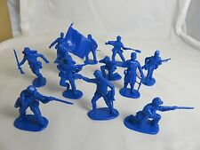 IMEX Civil War Union cannon crew, and Infantry 1/32 - Blue, Toy Soldiers