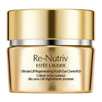 Estee Lauder Re Nutriv Ultimate Lift Regenerating Youth Eye Creme Rich 15ml
