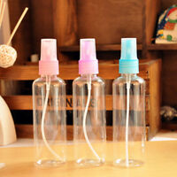 3XSale 100ML Mini Small Empty Plastic Perfume Transparent Atomizer Spray Bottles