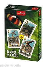 Dinosauri mazzo di 25 carte da gioco Bambini classico Peter Nero