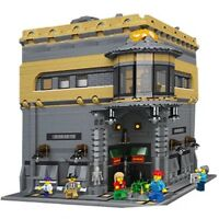 LEGO Modular museum 5000+pcs-CUSTOM Model. Instruction ONLY