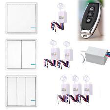 Lámpara de luz de Smart Inalámbrico Interruptor de pared 1 2 3 formas bandas On/Off Control Remoto