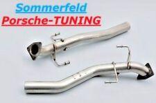 Porsche Cayenne 955 Turbo Leer Katalysator After catalytic Converter Dummy R+L