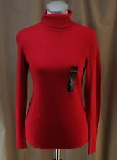 Worthington, Small, Cherry Cordial Turtleneck Sweater, New with Tags