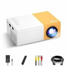 Mini Projector, PVO Portable Projector for Cartoon, Kids Gift, Outdoor Movie Pro