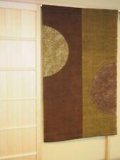 Kyoto Half Round Noren Door curtain Roketsu Dye Brown 88x150 Japan