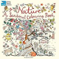 RSPB Nature: A Seasonal Colouring Book (Colouring Books) by    Paperback Book  