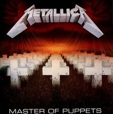 Metallica - Master of Puppets CD ( Blackened Re-issue ) SEALED