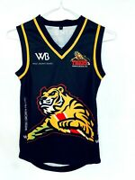 North Beach Junior AFL Football Club Tigers Black Yellow Guernsey Jersey Size 8