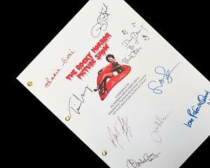 Rocky Horror Picture Show Script Signatures Autograph Reprint Dr Frank-N-Furter