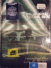 International Magic Live at O2 DVD/CD Noel Gallagher's High Flying Birds oasis