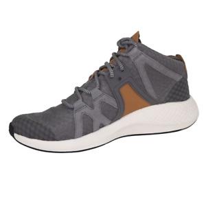 Timberland FlyRoam Go F/L Chukka Mid TB0A1O9W Grey Sneaker Mesh Sz 8 Mens Shoes
