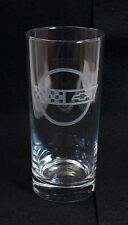 Corvette Tall Beverage Drinking Glass 15 oz C4 Etched Logo