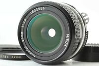 [Near Mint] Nikon Nikkor 28mm f/3.5 Manual Focus Lens from Japan #132
