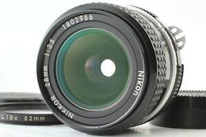 [Near Mint] Nikon Nikkor 28mm f/3.5 Manual Focus Lens from Japan #132