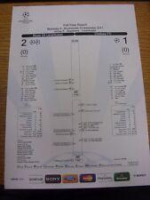 23/11/2011 Bayer Leverkusen V Chelsea [UEFA Champions League] Vollzeit Bericht,