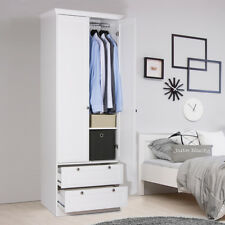 wei e kleiderschr nke im landhaus stil g nstig kaufen ebay. Black Bedroom Furniture Sets. Home Design Ideas