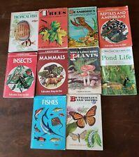 10 Golden Press Field Guides Book Lot