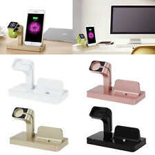 For Apple Watch and iPhone 11 X XR 6 6s 5 7 8 Charging Stand  Mount Station Dock