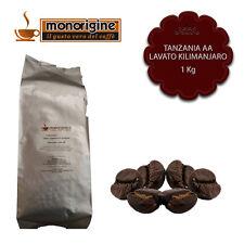Caffè in Grani Tanzania AA Lavato Kilimanjaro 1 Kg - Monorigine Arabica 100%