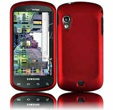 RED RUBBERIZED HARD CASE COVER FOR VERIZON SAMSUNG STRATOSPHERE i405 PHONE NEW