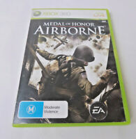 Mint Disc Xbox 360 Medal of Honor Airborne  Inc Manual Works on Xbox One