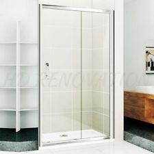 900~1990mm Wall to Wall Sliding Shower Screen Adjustable Semi Frameless Bathroom