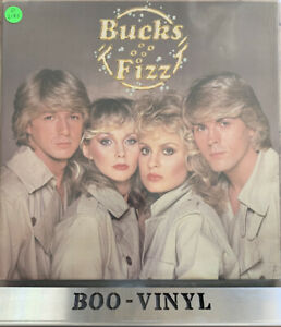 BUCKS FIZZ - Self Titled - Debut 1981 Gatefold Vinyl LP ft Making Your Mind Up