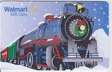WalMart Holiday Steam Engine Railroad Train Christmas 2015 Gift Card FD-48543