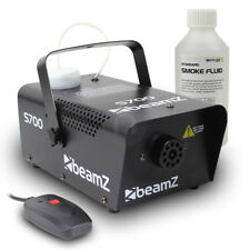 Beamz Smoke Fog Machine + Fog Fluid Party Atmospherics Effects 700 Watt UK Stock
