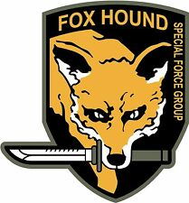 Fox Hound decal sticker Metal Gear Solid Msg 5inch Free Ship