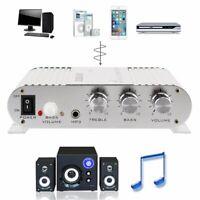 LVPIN 200W 12V Super Bass Mini Hi-Fi Stereo Amplifier Booster Radio For Car  🔥