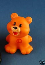 Fisher Price Little People Mcdonalds ABC L Lion Cub Orange