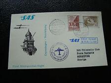 DANEMARK - carte 1/4/1964 (copenhagen/norrkoping) (cy23) denmark