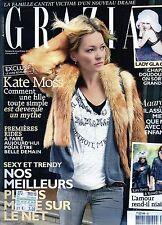 Grazia Fr.Kate Moss,Isabelle Carré,Kristina Rady,Hugh Dancy,V.V, Brown,kkk