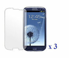 3 x Clear Invisible Screen Protector For Samsung Galaxy SIII S3 i9300/T999/L710