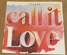 "YELLO - Call It Love ~12"" Vinyl Single"