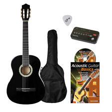 Gitarren-Set (Gitarre/schwarz, Tasche, Stimmgerät, Buch+CD, Plektrum), 2. Wahl
