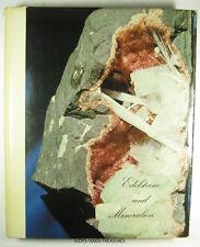 """BOOK EDELSTEINE UND MINERALIEN 11.5x9.5"""" 3-lb 1.5-oz  HERMAN BANK IN GERMAN 1967"""