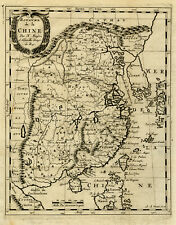 Antique Map-CHINA-CHINE-ASIA-KOREA-TAIWAN-Nicolas Sanson d'Abbeville-1682