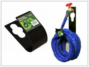 Expandable Hose Pipe Holder Outdoor Wall Mounted Flexible Tap Storage Metal