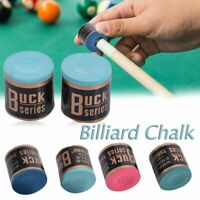 Pool Cue Chalk Snooker Cue Tip No-slip Chalk Table Billiards Chalk Accessories