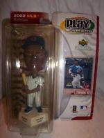 """2002 Major League Baseball Sammy Sosa 7"""" Bobblehead Figure Unopened Box Faded"""