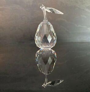 Swarovski Crystal Pear MIB w/COA